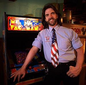 Mullet man and Pacman legend Billy Mitchell